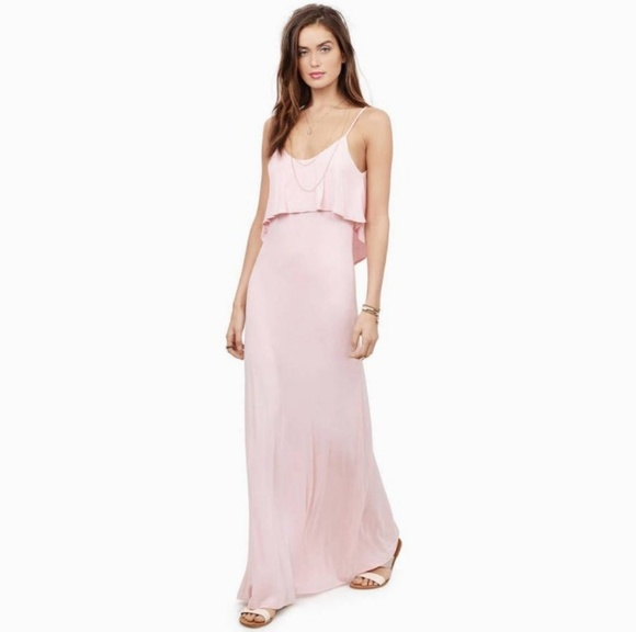 Tobi Dresses & Skirts - Tobi Beyond The Sea Blush Maxi Dress